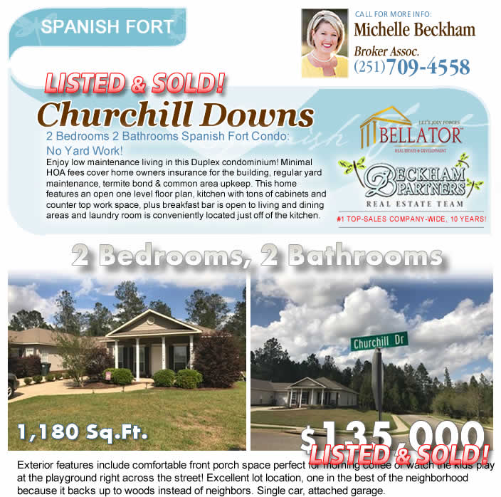 Churchill Downs Condominiums in Spanish Fort